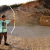 Deres   Center  activities:   archery
